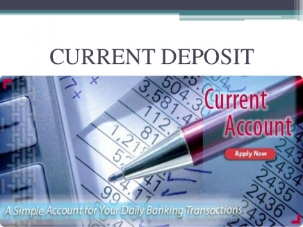 Monthly Payment Calculator >> Current Deposites